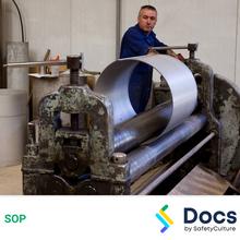 Sheet Metal Roller SOP 60065-2