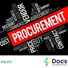 Environmental Sustainable Procurement Policy 70044-2