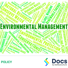 Environmental Management Policy 70039-7