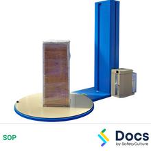 Shrink Wrap Machine (Turn-Table) SOP 60064-2