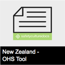 HSW Meeting Toolbox Talk Record - NZ