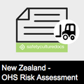 Plant Risk Assessment Form - NZ (110542)