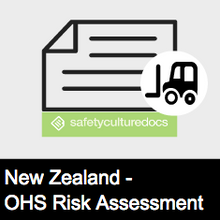 Plant Risk Assessment Form - NZ