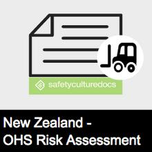 Plant Risk Assessment Form - NZ