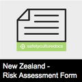 Risk Assessment Form - NZ