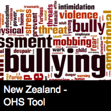 Workplace Bullying Report Form - NZ