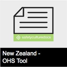 Workplace Induction Checklist - NZ