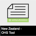Workplace Inspection Checklist - NZ