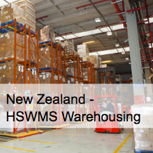 Warehousing HSWMS  - New Zealand