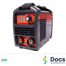 Welding Machine (Electric) SOP 60182-2