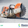 Demolition Saw (Electric/Petrol) SOP | Safe Operating Procedure