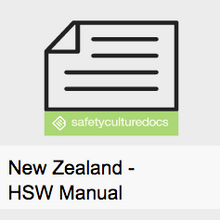 HSW Manual - New Zealand