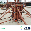 Concrete Formwork (Wall/Columns) SWMS | Safe Work Method Statement