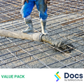 Concrete Formwork - Commercial SWMS | Safe Work Method Statement Value Pack