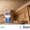 Roof/Subfloor Space (Working In) SWMS | Safe Work Method Statement