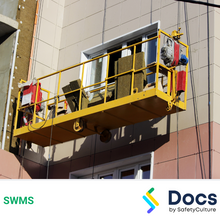 Heights (Erecting Swing Stage) SWMS 10538-2