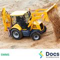 Backhoe Loader Operation SWMS | Safe Work Method Statement