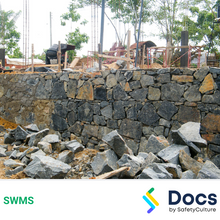 Retaining Wall (Rock) SWMS 10544-3