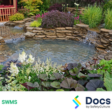 Landscaping (Water Feature) SWMS 10562-2