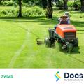 Mobile Plant (Triplex Reel Mower) SWMS | Safe Work Method Statement