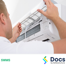 Air Conditioning (Existing Premises) SWMS 10573-3