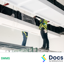 Duct Work Installation SWMS 10571-2