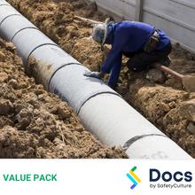 Plumbing - Civil Drainage SWMS Pack 50156-4