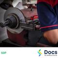 Lathe - On Vehicle Brake SOP | Safe Operating Procedure