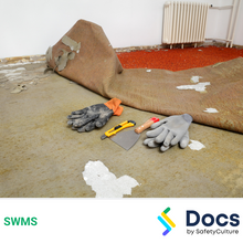 Make Safe (Floor Covering Removal) SWMS 10581-2