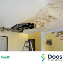 Make Safe (Secure Ceilings) SWMS 10582-2