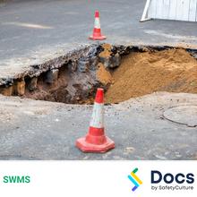 Make Safe (Sink Hole) SWMS 10580-2