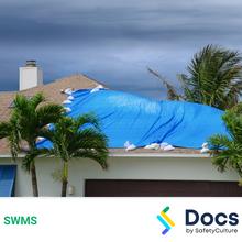 Make Safe (Damaged Roof) SWMS 10583-2