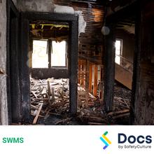 Make Safe (Fire Damaged Structure) SWMS 10586-2