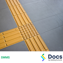 Tactile Paving SWMS 10497-4