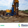 Drilling & Piling SWMS | Safe Work Method Statement