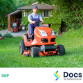 Mower (Ride On) SOP | Safe Operating Procedure