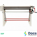 Roll Former (Manual) SOP   Safe Operating Procedure