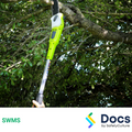 Pole Saw SWMS | Safe Work Method Statement
