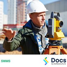 Surveyor Inspection SWMS 10623-1