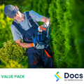 Gardener SWMS | Safe Work Method Statement Value Pack