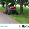 Council Grass Cutting Services SWMS | Safe Work Method Statement Value Pack