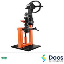 Strut Spring Compressor SOP 60000-1