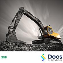 Excavator SOP 60022-1