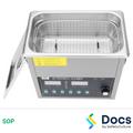 Ultra Sonic Cleaner SOP | Safe Operating Procedure