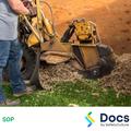 Stump Grinder SOP | Safe Operating Procedure
