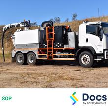 Vacuum Excavator SOP 60160-1