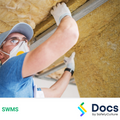 Ceiling Panel & Insulation Installation (From EWP) SWMS | Safe Work Method Statement