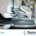 Embroidery Machine (Industrial) SOP | Safe Operating Procedure