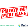 Purchasing Record Form