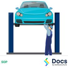 Vehicle Hoist (2-4 Post) SOP 60188-1